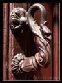Gargoyle knocker