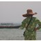 Fantastic hat, Sihanoukville. OM135mm, f3.5.