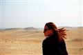 Camel ride in the Saharan desert