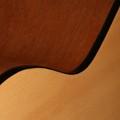 Acoustic Guitar, Natural Wood Finish