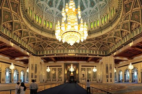 Oman - Muscat - Sultan Qaboos Grand Mosque