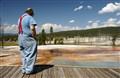 Enjoying the view in Yellowstone NP :-)