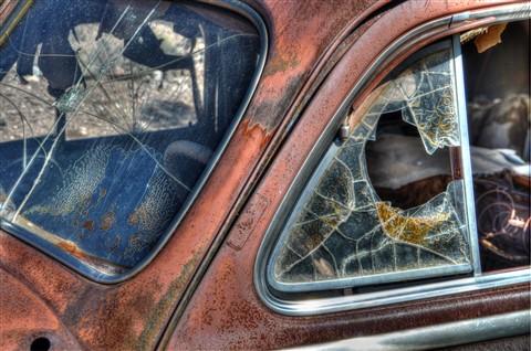 broken glass