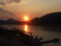 Sunset at LuangPraBang