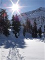 snowshoeing in engadina swiss