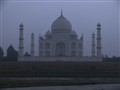 Taj at night