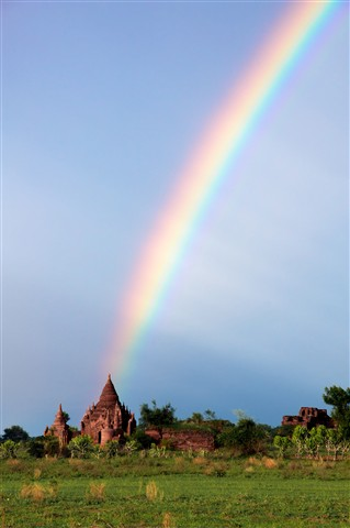 Rainbow ruins