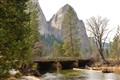 Yosemite's Sentinel Bridge & Dome on the Merced River