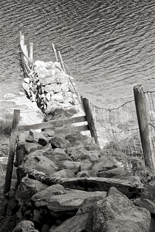 Lake District Fence Mono