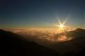 rising sun..