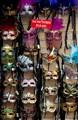 Touristic Souvenirs - New Orleans Mardi Gras Masks