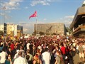 scene from occupygezi event in Turkey