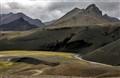 Volcanic landscape, Iceland