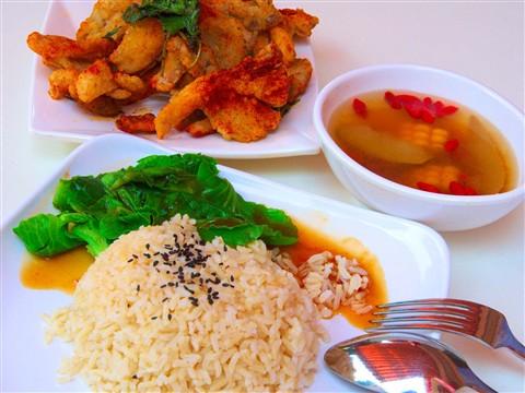 Mushroom Rice Set