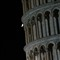 The Leaning Tower of Pisa and the Moon