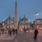 Piazza del Popolo at night, Rome , Italy