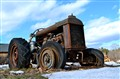 Used Up Farm Tractor