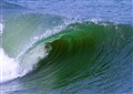 wave on the outer banks