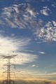 Electrical Grid And The Sky