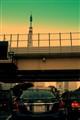 Tokyo, get lucky - if u don't hit a traffic jam !