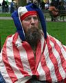 Draped in Flag