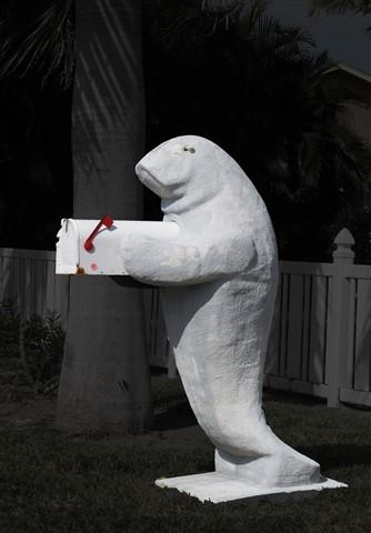 Manatee Mailbox, Fort Myers