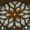 The Sun shines through... Sainte Chapelle, Vincennes castle, France.: