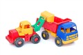 toy shovel truck