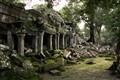 Cambodian Temple Ruin