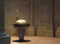 Baptismal font in the Liebfrauenkirche , Trier, Germany