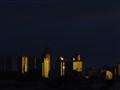Sunset in Melbourne CBD Australia