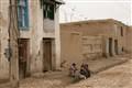 poor street in Meymaneh, Afghanistan