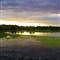 Lake Vertical Sunset