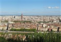 Lyon, France in a sunny afternoon