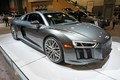Photo of Audi R8 Supercar at the Washington DC auto show this past January.  This car features the V10 engine.