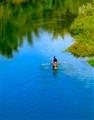 a tributary of the Youjiang river, Baise, Guangxi, China