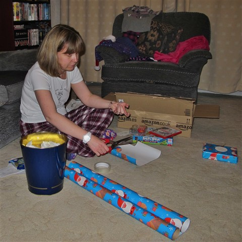 Wrapping The Presents