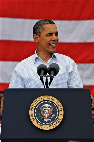 President Obama 2011 Laborday