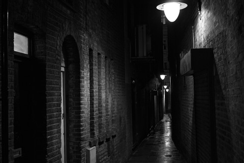 Moody alley