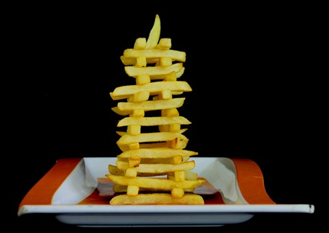 French Fries Tower