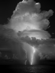 Lightning Strike at Sanibel Island
