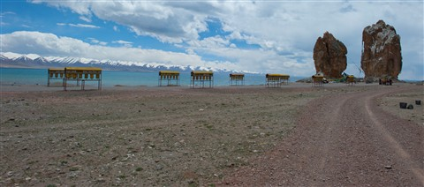 "The ""door"" to heaven @ The holy Namtso Lake - altitude 4,300 meters"