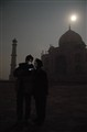 Taj Mahal after dark