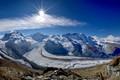 A view from Gornergrat, Swiss