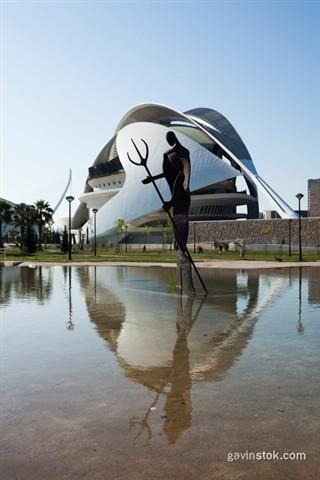 Valencia: Palau de les Arts Reina Sofia (Wide)