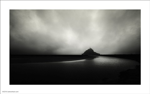 Clearing Storm - Mont St. Michel