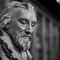 wooden bust in British Museum