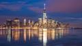 Lower Manhattan Reflected