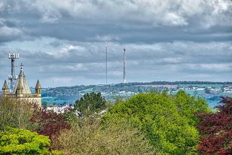Emley Moor TV Masts