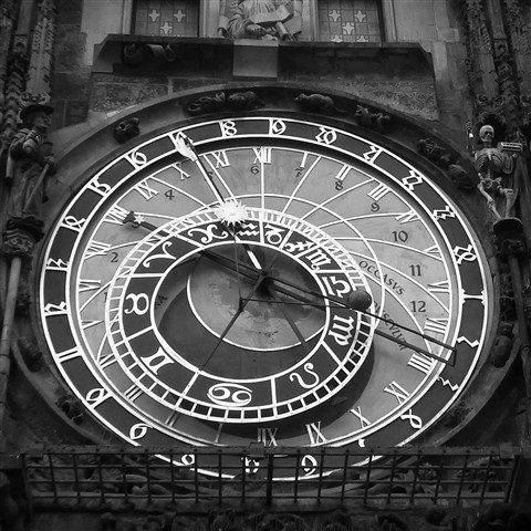Prague - the clock